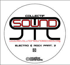 CD compilation electro-rock from the RSR collective